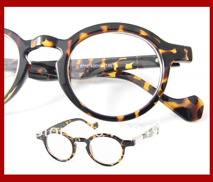 Eyeglasses Frames By Size : TORTOISE black round/geek/vintage style MEN WOMEN UNISEX ...