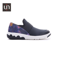 UIN Zaans Design Microfiber Leather Casual Sneakers for Kids Easy Slip-on Children Shoes Soft Flats Boys/Girls(China)