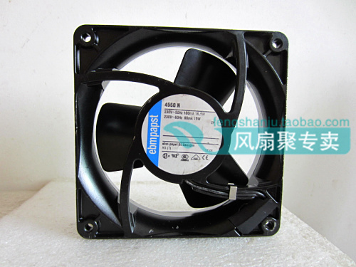 Original German EBMPAPST TYP 4550N 230V 16.5/15W 12cm 12038Full Metal AC Cooling Fan original ebmpapst w2g107 ad03 13 12cm 12038 24v3 3w full metal cooling fan