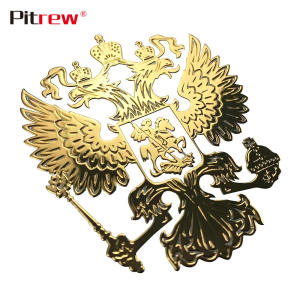 Decals Russian Federation Eagle Emblem Stickers for Car Styling Mobile Phone Sticker