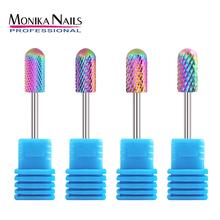 hot deal buy monika safety nail carbide bit rotary burrs cleaning brush stone file nail drill machine accessories salon pedicure tools