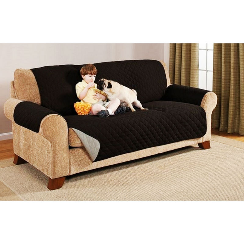 Water Resistant Microfiber Soft Sofa Loveseat Couch Cover