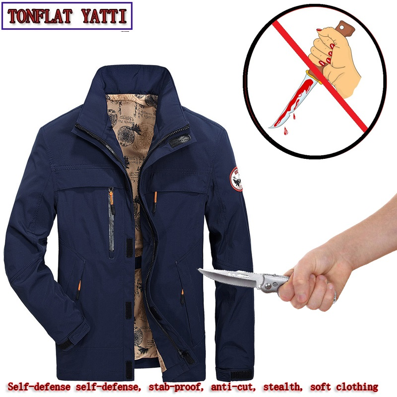 Self Defense Military Defensa Personal Stab-resistant Cut-proof Jacket Soft Stealth Armas De Defensa Personal Safety Clothing