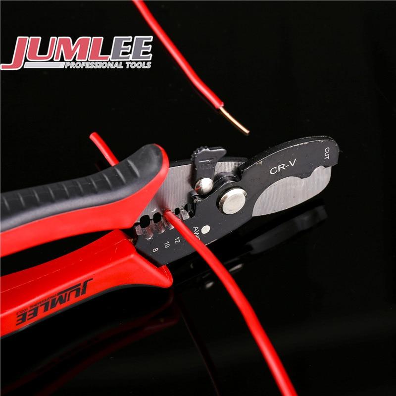 7.2in Wire Stripper Cable Cutting Scissor Stripping Pliers Cutter Crimper 0.6 2.6mm Hand Tools Ferramentas Herramientas TAB Term|  - title=