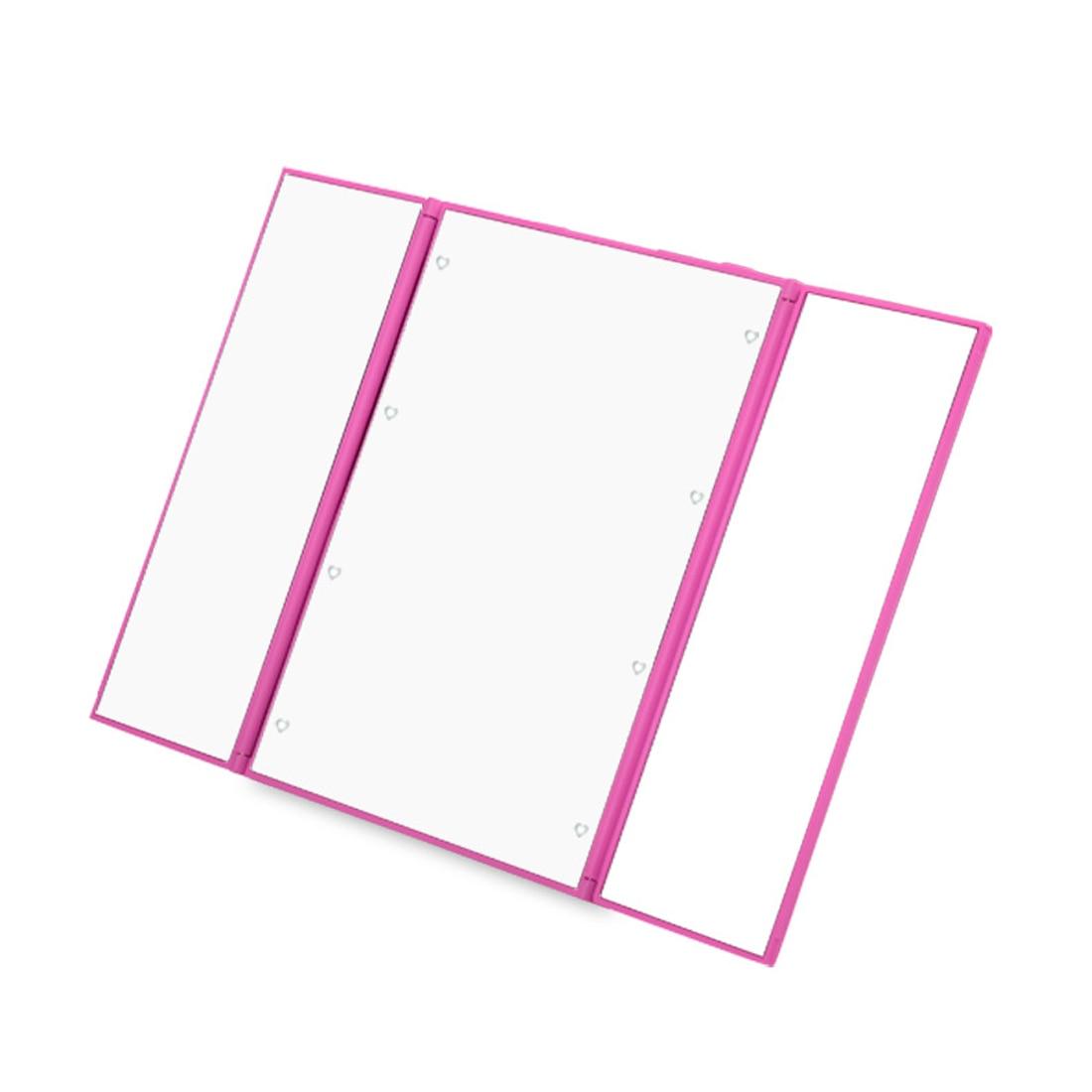 Top Sale Tri Fold Illuminated Led Lighted Vanity Mirror