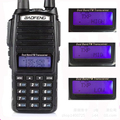hot 10 Km Real 8W With High Mid Low UV 82 Ham Radio Station amateur Portable Radio Walkie Talkie 10km Baofeng Uv-82 Baofeng 8W