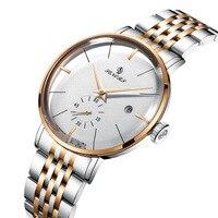 Джентльмен швейцарские механические часы Мужские автоматические Скелетон турбилон часы Мужские лучший бренд класса люкс дропшиппинг Relogio