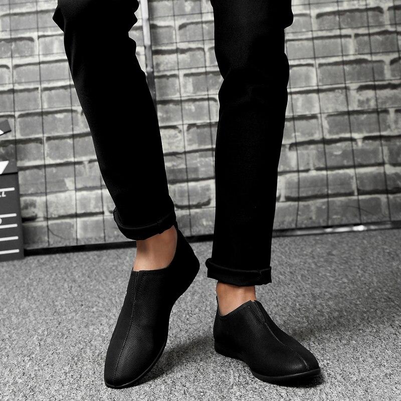 Mocassin marrom Sapatos Condução Genuínos Mokasin De Para Homme Mocassins Luxo Preto Mens Marcas branco Homens Couro Northmarch Kasual OaU1wqfq