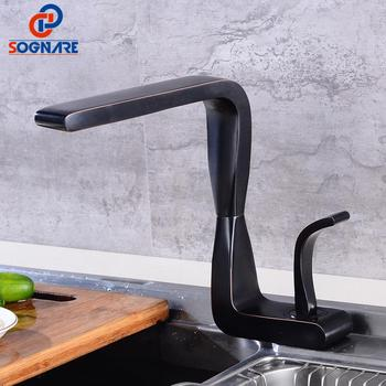 цена на Kitchen Faucet Single Handle 360 Kitchen Mixer Cold And Hot Basin Sink Mixer Tap 360 Degree Rotation Water Faucet For Kitchen