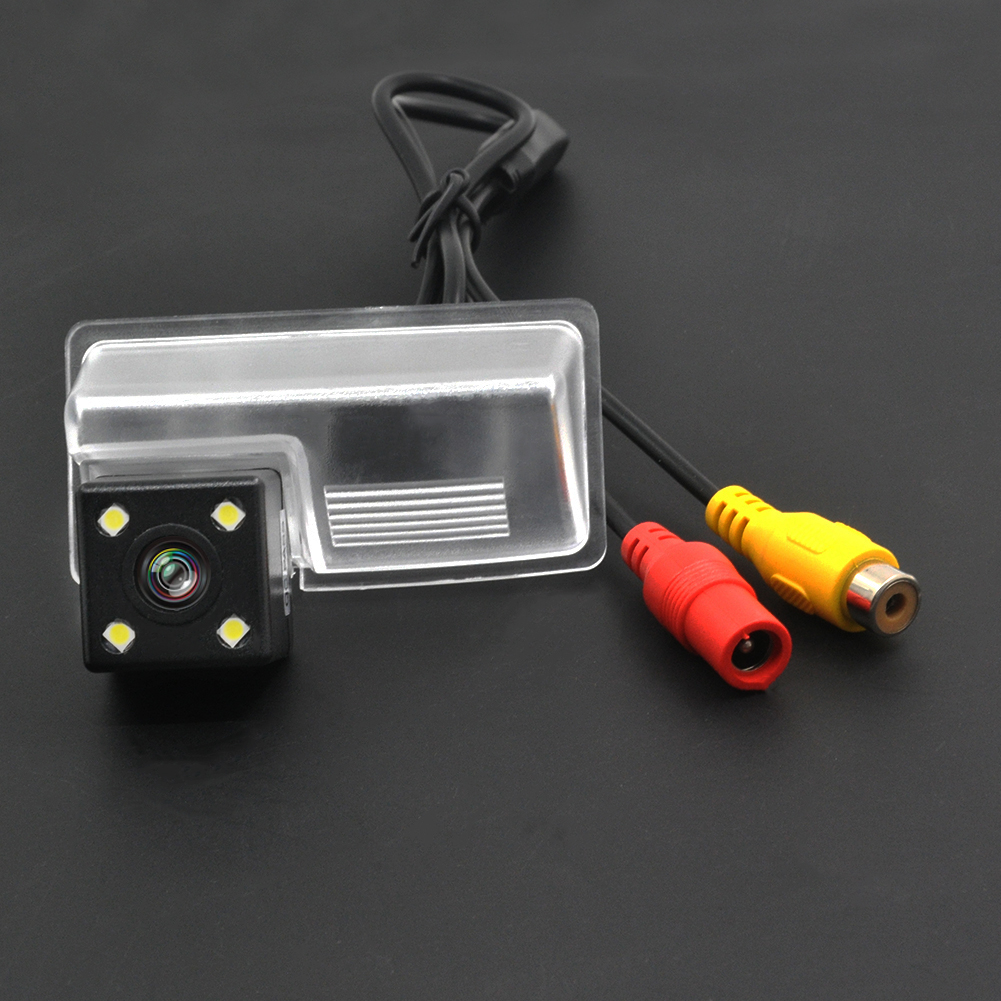 Wireless Wire Waterproof Wide Angle for sony ccd Geely GLEAGLE GX7 vision SC7 SX7 EMGRAND EC7-RV Rear View Parking Camera 4LED