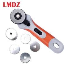 PIC Tailor suministra herramientas de retales de 45mm cuchillo redondo de rueda de rodillo seguro para cortar a mano telas de cuero cuchillo de rueda rotativo Cutt