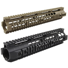 New high quality 12.6 inch for AEG M4 / M16 Tactical Handguard Rail System BK/CB - Free shipping