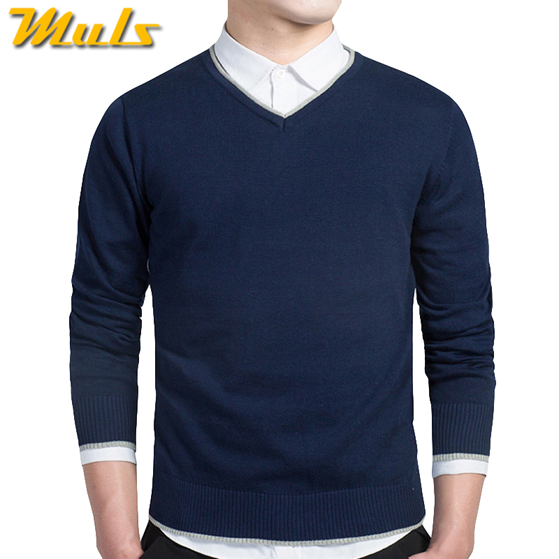 Cotton Sweater men 2016 New arrival pullover man jumper Autumn ...