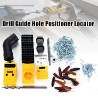 New High Quality Pocket Hole Jig Drill Guide Hole Positioner Locator Woodworking Tool Kit Suitable For