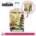 Dispalang пизанская Башня печать камера защитный чехол новый чемодан протектор обложки применить к 18-30 дюймов