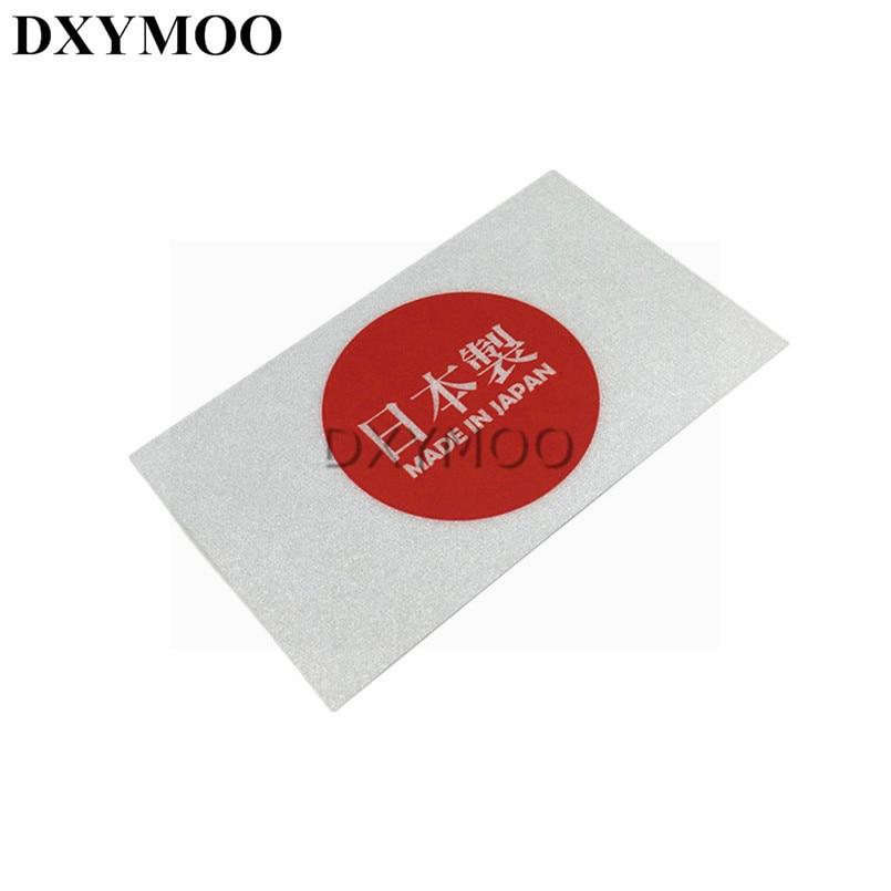 JAPAN FLAG Decal Vinyl Sticker chrome or white vinyl decal and 15 sizes!