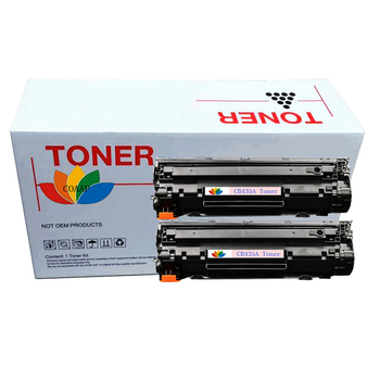 2x Compatible HP CB435A 35A Toner Cartridge for hp435A LaserJet P1005 P1006 P1007 P1008 P1005n P1006n P1007n P1008n Printers