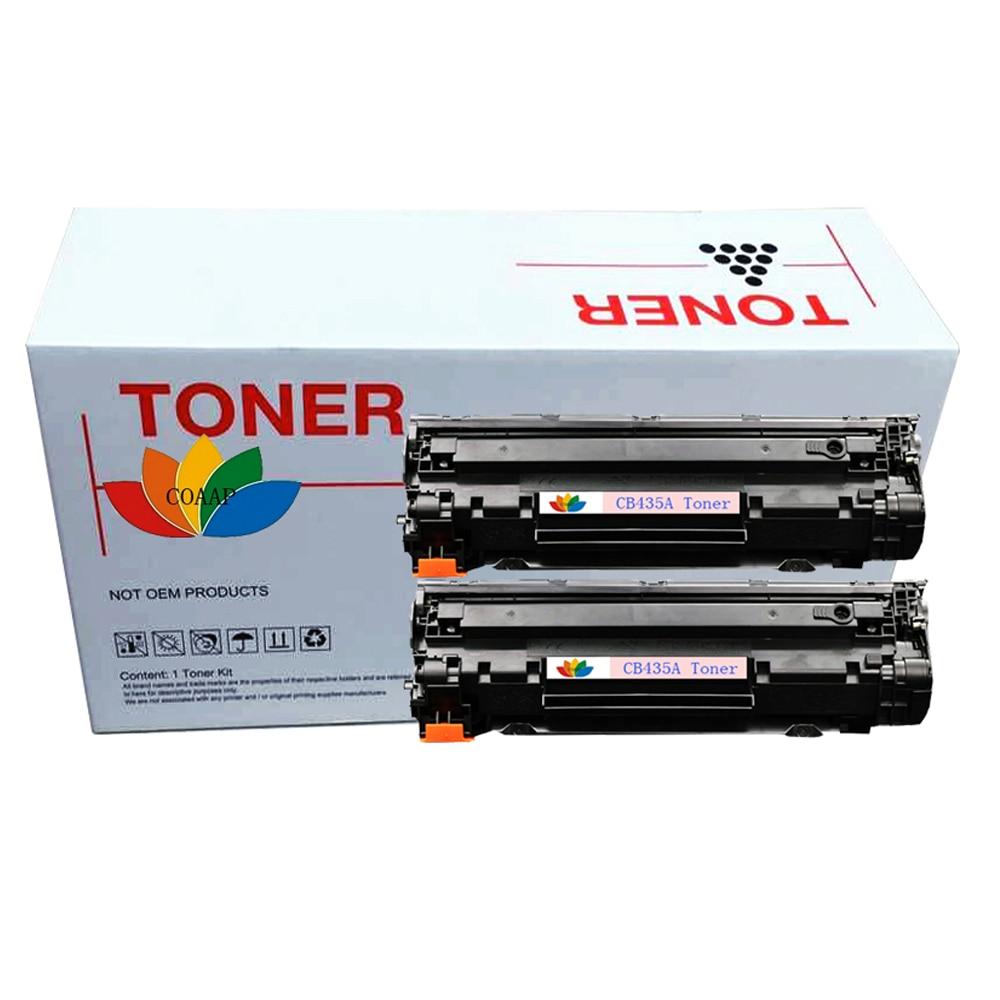 2x Compatible hp CB435A 35A Cartouche De Toner pour hp 435A LaserJet P1005 P1006 P1007 P1008 P1005n P1006n P1007n P1008n Imprimantes