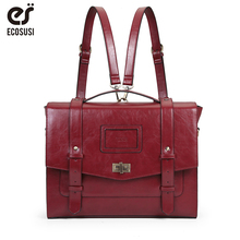 ECOSUSI  Women Messenger Bags Vintage Bags for 14.7