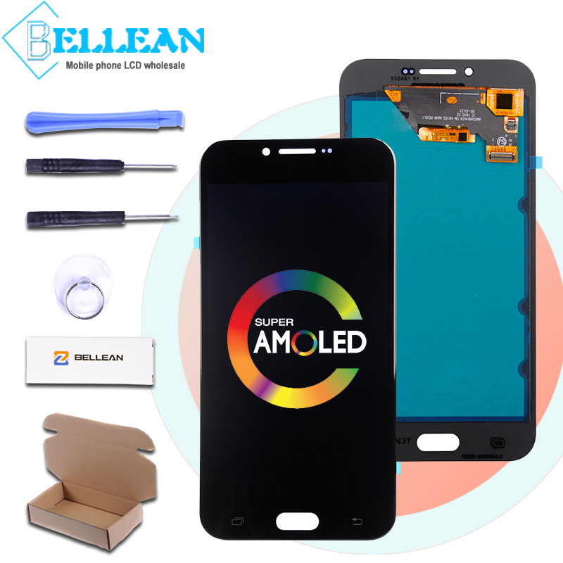 Catteny New 2016 <font><b>A8</b></font> Lcd Touch Screen Digitizer Assembly For Samsung Galaxy A810 Lcd SM-A810 <font><b>A8</b></font> <font><b>Display</b></font> Screen Glass With Tools image