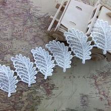high quality water soluble 4.1cm boutique design 15 yard / lot  DIY handmade craft  lace trim YY781 1kg high quality water soluble dha