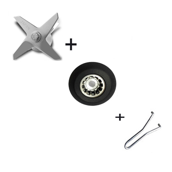 blender parts Commercial grade blender blade stainless steel mixing and cutting blades knives knife complete assembly