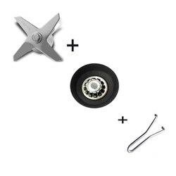 Blender onderdelen Commerciële grade blender mes roestvrij staal mengen en snijden messen messen mes compleet vergadering
