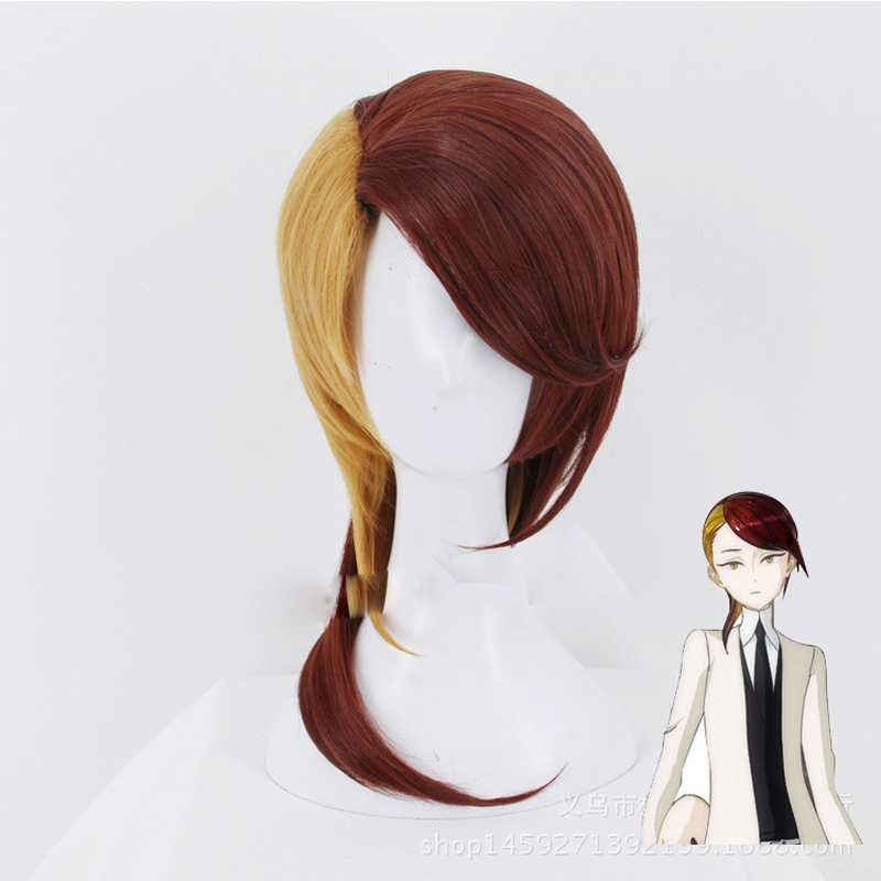 Anime Land of the Lustrous Rutile Wig Cosplay Costume Houseki no Kuni Men & Women Synthetic Hair Halloween Party Role Play Wig