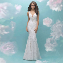 HIRE LNYER Sleeveless Mermaid Wedding Dresses