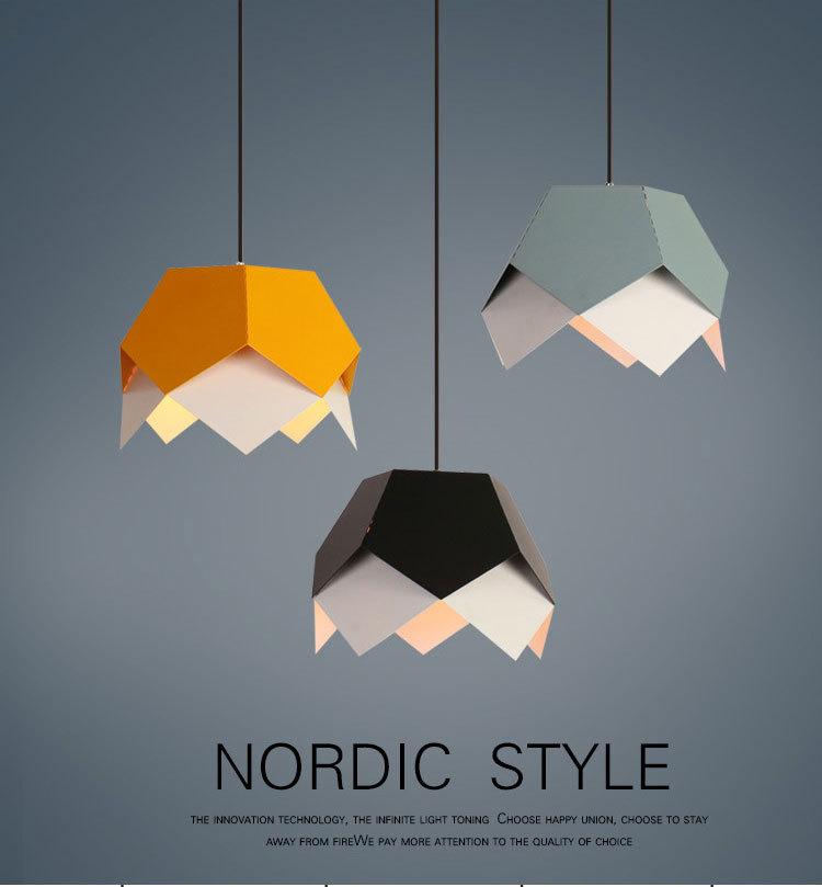 Nordic contracted droplight Angle adjustable E27 small pendant lights, Home decor lighting lamps and lanterns european contracted pendant lights skirt tail aluminium droplight household decorative home restaurant decorative lighting
