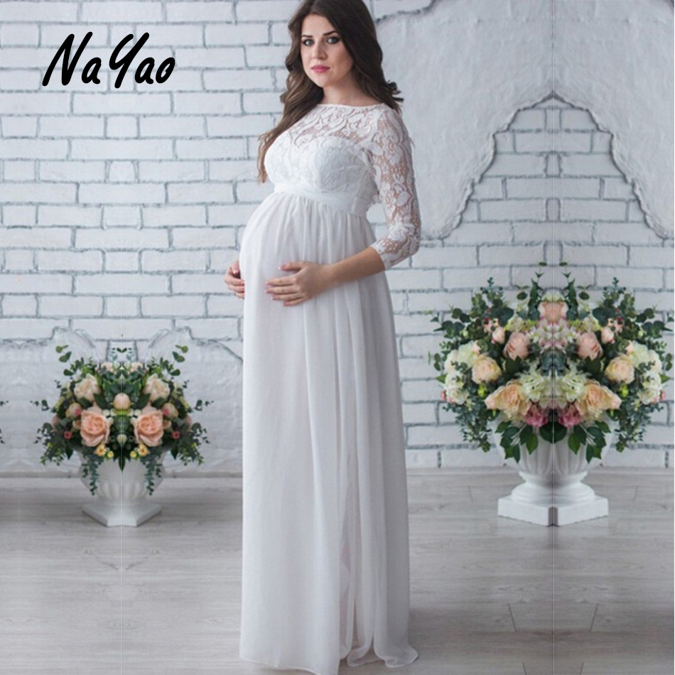 Online Shop Spring Summer New Pregnant Woman Maternity Dresses two ...