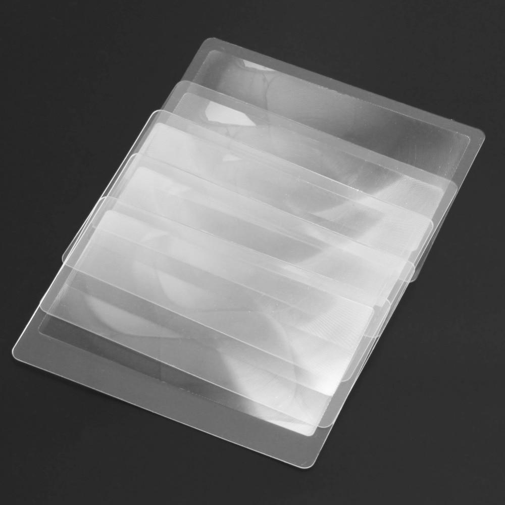 10 PCS 3 X nagyító nagyítással Nagyító Fresnel LENS 8.00 * 5.50 - Mérőműszerek - Fénykép 5