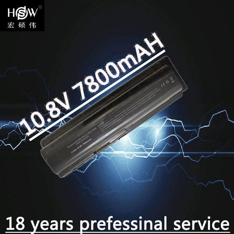 A HSW Novo 9 bateria Bateria Do Laptop Celular Para HP Pavilion DV4 DV5 DV6 HSTNN-IB72 HSTNN-LB72 HSTNN-LB73 HSTNN batteria akku