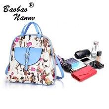 Женщины рюкзак высокое качество искусственная кожа Школьные сумки характер для подростков девочек топ-ручка рюкзаки Herald мода рюкзак