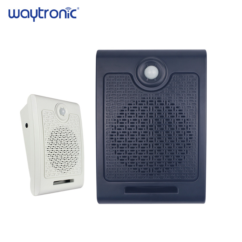 Wall-Mounted High-power Recordable PIR Motion Sensor Sound Speaker Infrared Sensor Speaker Player Epidemic Prevention Reminder