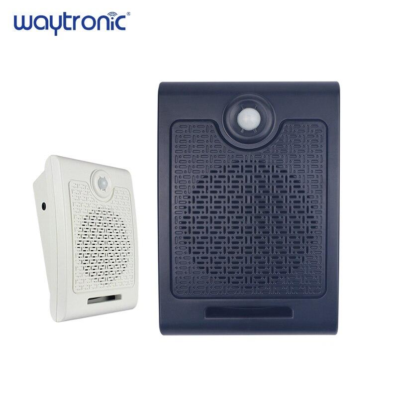 Wall-mounted High-power Recordable PIR Motion Sensor Sound Speaker Infrared Sensor Speaker Player