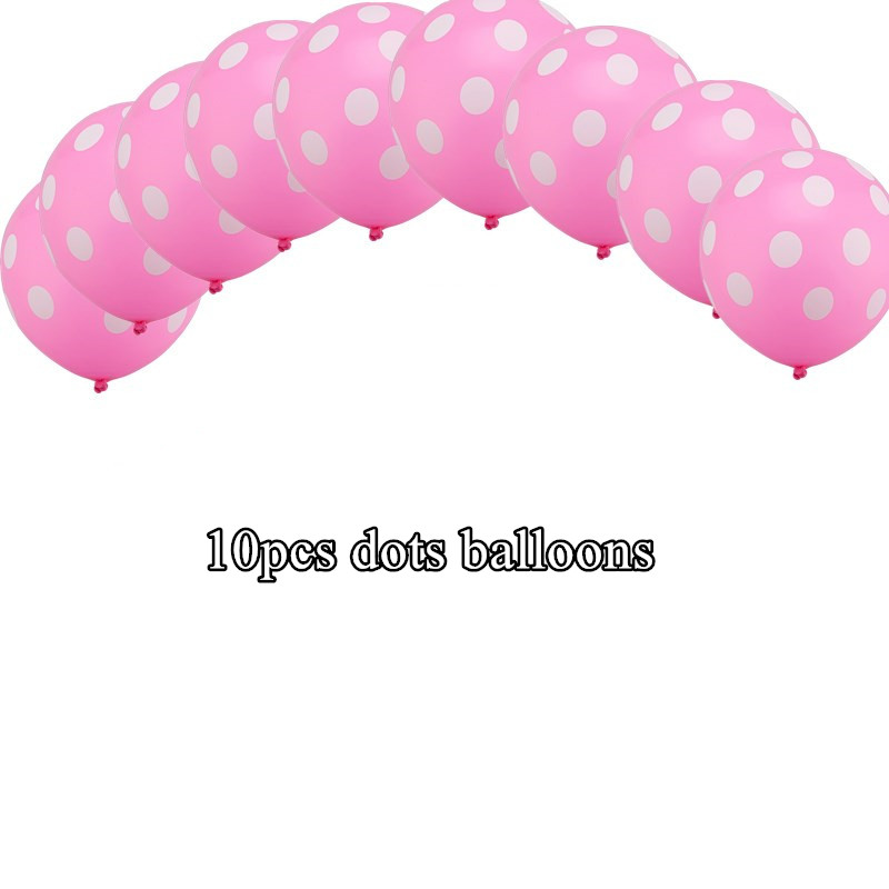 Beautiful white dots latexballoons ballet dancing girl foil balloons for weeding birthday party decorations decor kids gift toys