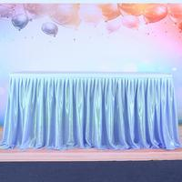 Adeeing Gewinde Band Tabelle Rock mit Tüll Elegante Party Hochzeit Tischdekoration