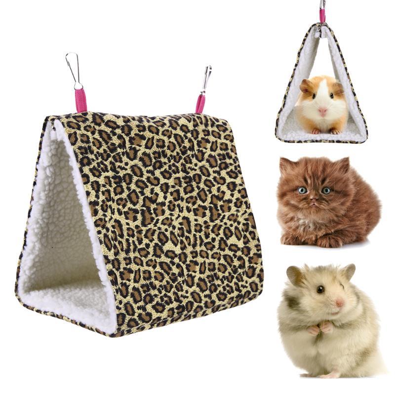Hot Selling Pet Hammock Hammock Mini Winter Warm House For Pet Bird Parrot Squirrel Hanging Bed Toy Bird Supplies