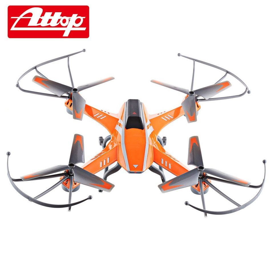 New Arrival Attop A8 RC Quadcopter 6-Axis 4CH Gyro Camera Auto-return Controlled Lighting 360 Degree Flips Original Dron