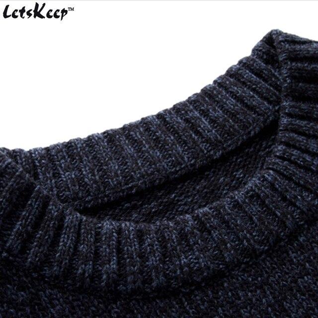 Tienda Online Nuevo letskeep 2017 suéter hecho punto de los hombres ...