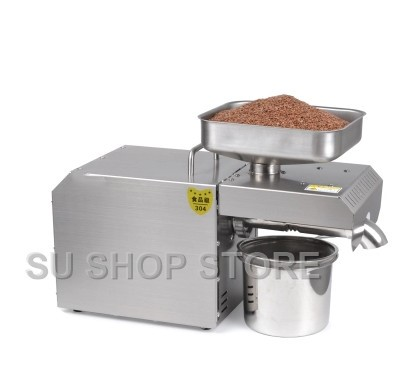 Chaude et froide presse à huile commerciale machine haute taux d'extraction d'huile d'arachide de sésame presse à huile prix de la machine