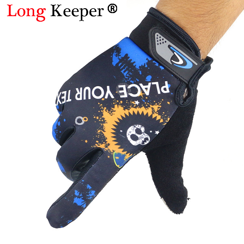 Long Keeper Winter Gloves Fleece Thermal Bike Sport Gloves Cycling Bicycle Equipment Warm Gloves Full Finger Phone Glove 2018