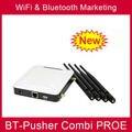 Бесплатный Wi-Fi AP и Bluetooth маркетинга рекламного устройства Bt-толкатель COMBI PROE с автомобильное зарядное устройство, аккумуляторная батарея