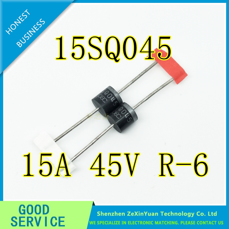 20PCS/LOT Bypass / Blocking Diode 15amp 45V High Surge Current Capability 15SQ045 High Quality For DIY Solar Cells Panel