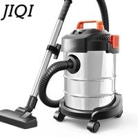 JIQI Barrel Type Vacuum Cleaner Aspirator Dust Catcher Industrial Sweeper Carpet barrel Cleaning Machine Suction Brush