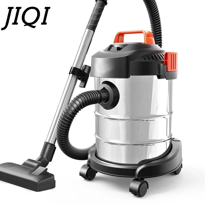 JIQI Vat Type Stofzuiger Aanzuiger Dust Catcher Industriële Veegmachine Tapijt barrel Cleaning Machine Zuig Borstel