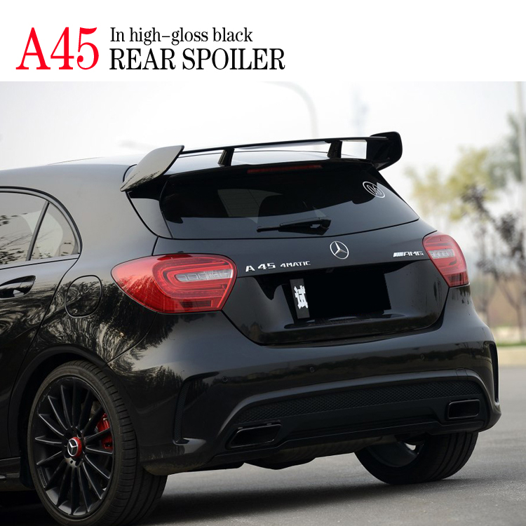 A45 AMG Design SportsNew Glossy Black Painted Rear