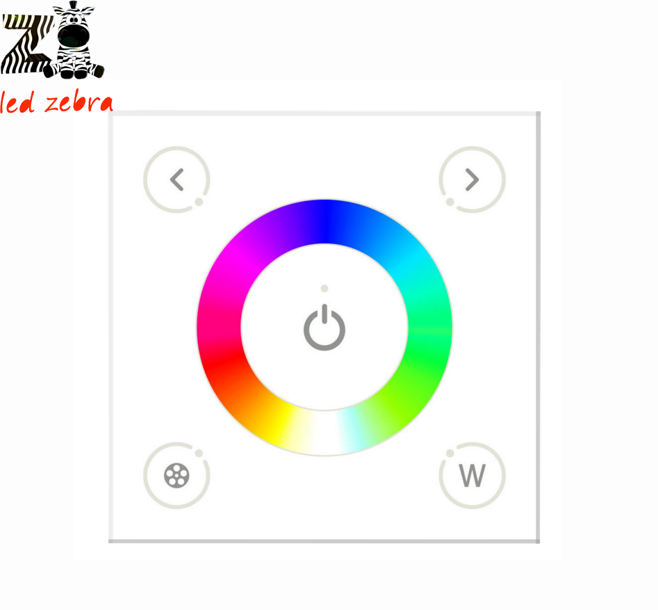 AC 110-240v DX4 rgbw touch panel led controller,smarthome wall mount 2.4g full color led controller for rgbw led strip comfast full gigabit core gateway ac gateway controller mt7621 wifi project manager with 4 1000mbps wan lan port 880mhz cf ac200