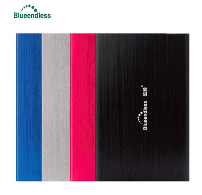 Bluedendless HDD HD disco duro de 1 TB 2 TB para ordenador portátil disco duro externo de 1 TB 2 TB 500 GB 320 GB Disque Dur externa 1to 2TO